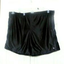Z Brand Men's Black Reversible Shorts with Draw String Work Out Shorts (*S004)
