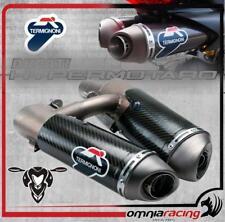 Termignoni Terminali Scarico Omologato 80 Carbonio Ducati Hypermotard 1100 07>13