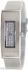 DKNY Silver-Tone Mesh Bracelet Women's Watch NY2109