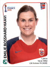 Panini Frauen WM 2019 Sticker 78 - Emilie Bosshard Haavi - Norwegen