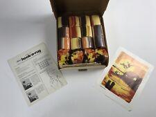 "Vintage MALINA Hook-a-Rug Kit Area Rug / Wall Hanging 30"" x 24"" NOS"