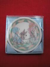 1993 Precious Moments Children's Pageant Nativity Mini Plate Hanging Ornament