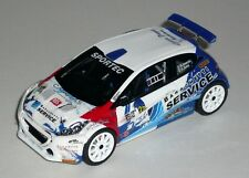 PEUGEOT 208 R5 INVERNICI MILANO RALLY SHOW 2017  DECALS 1/43