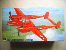 Hasegawa 1/48-#JT185-P-38J LIGHTNING 5000TH LIGHTNING