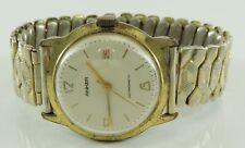 Vintage Anker Handaufzug Antimagnetic Herren Armbanduhr - vergoldet