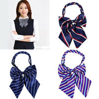 Fashion Women Girl's Party Adjustable Bow Neck Tie School Uniform Accessories