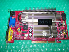 MSI GeForce 7600GS 512MB Single Slot AGP graphics card, Win 7/8, Tested