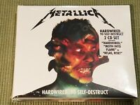 METALLICA HARDWIRED...TO SELF DESTRUCT 12 TRACK NEW FACTORY SEALED 2 CD SET