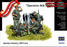 Master Box 3565 Operation Milkman WWII German Infantry at Rest plastic kit 1/35