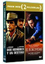 PELICULA DVD PACK PAUL NEWMAN EL BUSCAVIDAS+DOS  HOMBRES Y UN DESTINO