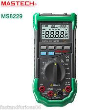 Mastech MS8229 5-in-1 Auto-Range Multi-functional Digital Multimeter Meter Alarm