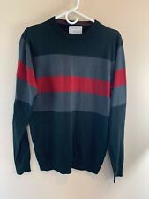 Primark Men's Long Sleeve Striped Sweater SZ MED