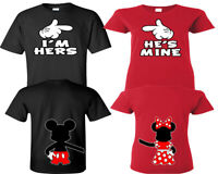 I'm Hers He's Mine Shirts Couple Shirts His And Hers Shirts Couple Matching Tees