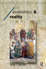 Economics and Reality: By Tony Lawson