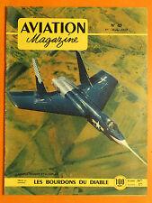 AVIATION magazine  45 du 1/3/1952-Chance-Vought F 7 U-Cutlass-Bourdons du Diable