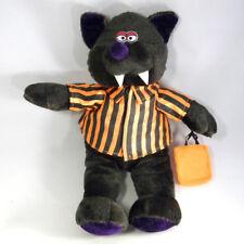 New Orleans Plush Vampire Bear Stuffed Animal Toy Mardi Gras Halloween VTG RARE