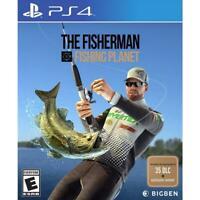 The Fisherman Fishing Planet Playstation 4 PS4