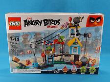 Lego Angry Birds 75824 Pig City Teardown 386pcs New Sealed 2016
