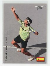 2003 Netpro Elite Rafael Nadal 1 of 2000 RC ROOKIE #19 2000 MADE RARE