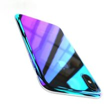 IRIDESCENT Luxury Ultra Slim Shockproof Bumper Case Cover for Apple iPhone X 10