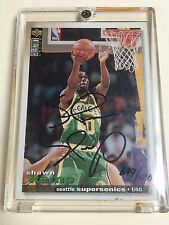 1993/94 Shawn Kemp AUTO #40 PSA upper deck 849/1000