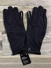Lululemon Resolute Runner Gloves - Men's Size L/XL  Black BLK Rulu - 20000