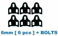 Leg Length Spacer for SHIMANO SPD-SL 6MM Road pedals cleat shoes spacer shims