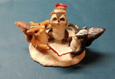Enesco Charming Tails Christmas Trio