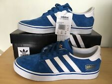 ADIDAS SEELEY PREMIERE BLUE SUEDE TRAINERS SIZE 8 LOS ANGELES RARE DEAD STOCK