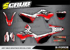 Honda CRF Dekor Grafik set 250 R 2018 '18 - SCRUB MOTOCROSS MX
