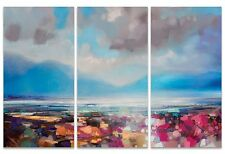 Scott Naismith - Lomond Proximity - 150x100cm Triptych Canvas Wall Art WDCT93202