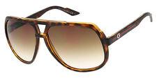 GUCCI Aviator Pilot Large Sunglasses GG 1622/S 7919M Havana Brown