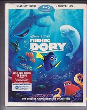 Finding Dory : Disney PIXAR (Blu-Ray/DVD/Digital HD) 3 Disc Set NEW SEALED