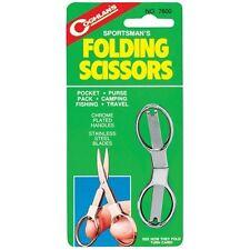 New Authentic Coghlan's Stainless Steel Folding Scissors, Model: 7600