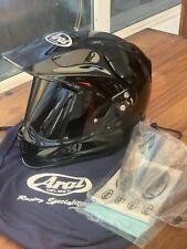 ARAI TOUR X4 MOTORCYCLE HELMET DUAL SPORT ADVENTURE SIZE S DIAMOND BLACK