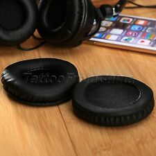 1 Pair 75mm Replacement Earpad Foam Cushion Ear Pad for SONY MDR-PQ2 Headphones