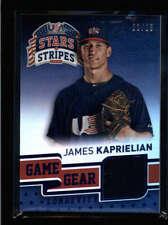James Kaprielian 2015 Usa Baseball Stars & Stripes Worn Jersey #22/25 Ax3382