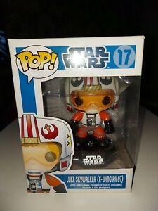 Funko Pop! Star Wars - Luke Skywalker (X-Wing Pilot) #17 - Blue Box