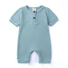 Newborn Baby Boy Girl Summer Bodysuit Romper Jumpsuit Playsuit Clothes Outfits