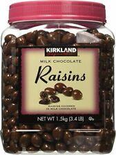 Kirkland Signature Milk Chocolate Raisins 3.4 Lb