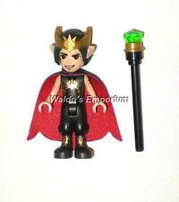 Lego Elves MiniFigure, Cronan Darkroot the Goblin King with Staff 41183, New