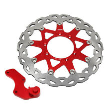 320mm Floating Front Brake Disc Rotor Bracket For Honda CR125R CRF250 CRF450X