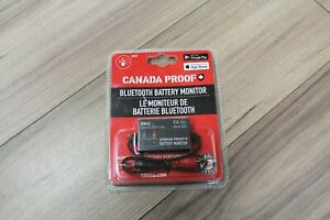 Canada Proof Bluetooth Battery Monitor - 12V Batteries