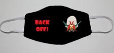 Adjustable Handmade Cotton Blend Customizable Face Masks Yosemite Sam Back Off!