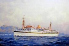MANUNDA HMAHS WW2 John Allcot Art Postcard digital Modern