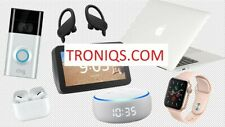 Troniqs.com - Cool 7 Letter Domain Name for Electronics company website