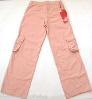 Stoff Cargo Hose Gr.152 CFL NEU m.E 100% Baumwolle dünn rosa kinder