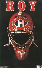 Patrick Roy MONTREAL CANADIENS MASK Original Starline Poster MINI Promo 3x5