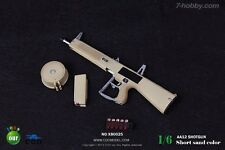 COOMODEL 1/6 scale Toy AA12 Shotgun Series Sand-Colored Short for action figures