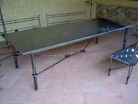 Tavolo Pranzo Tavolino Salotto FERRO BATTUTO  Realizzazioni Personalizzate . 664